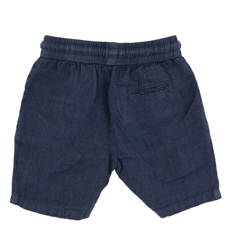 Pantalón corto niños Nupkeet azul oscuro 2