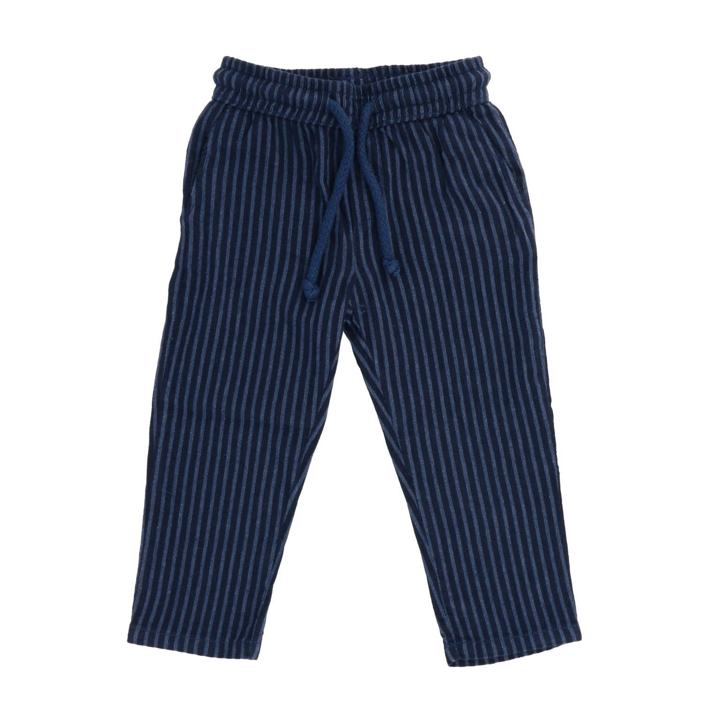 Pantalone Nupkeet bacchettato con coulisse nero 1