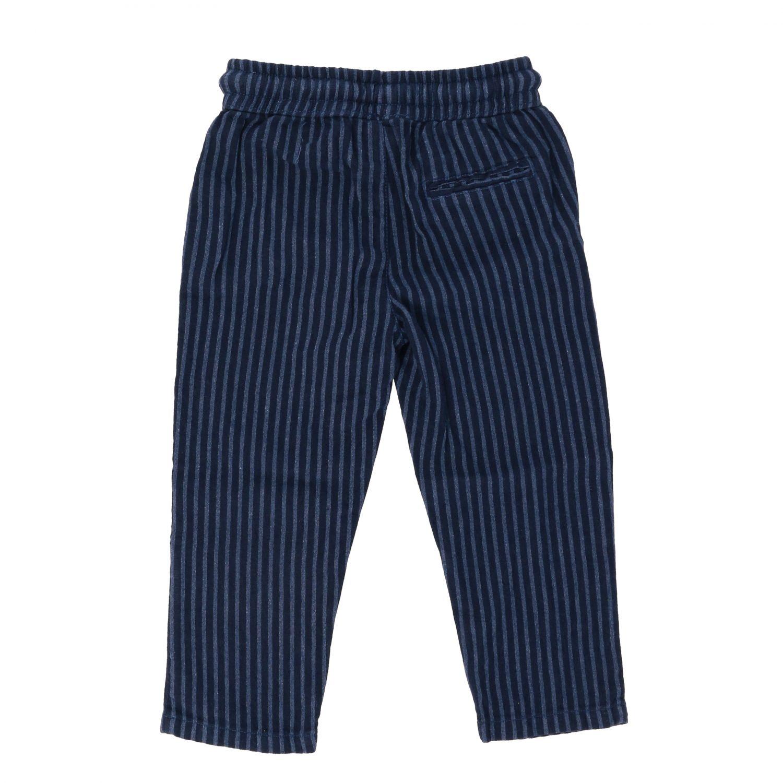 Pantalone Nupkeet bacchettato con coulisse nero 2