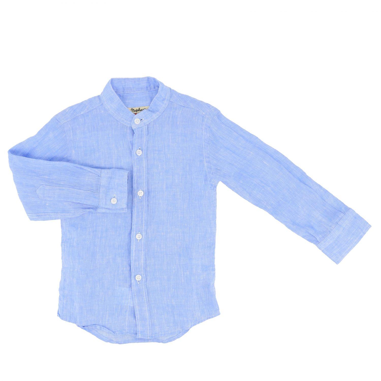 Shirt kids Nupkeet sky blue 1
