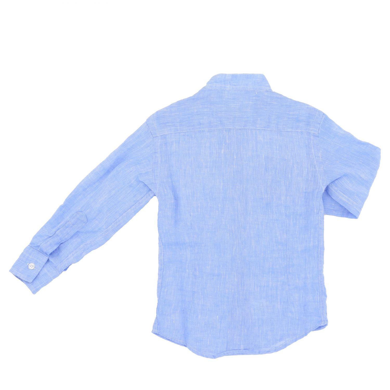 Shirt kids Nupkeet sky blue 2