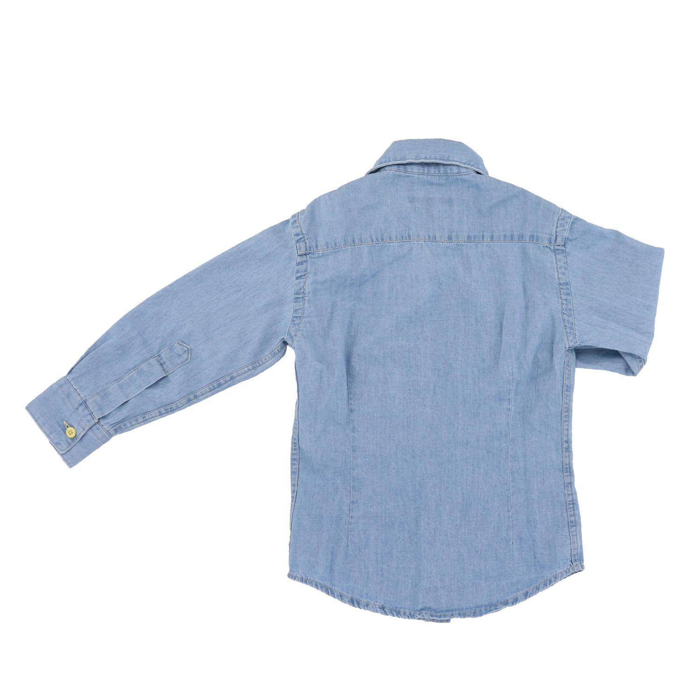 Camicia Nupkeet in denim denim 2