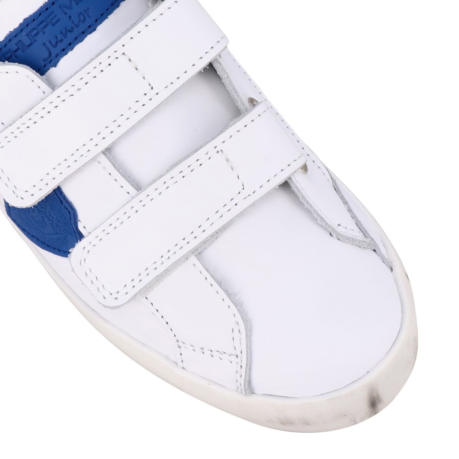Shoes kids Philippe Model white 4