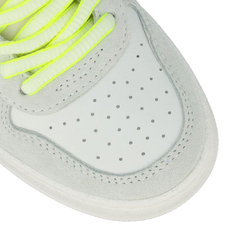 Sneakers Philippe Model in pelle e camoscio bianco 4