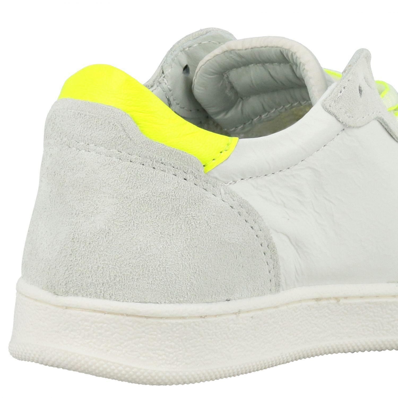 Sneakers Philippe Model in pelle e camoscio bianco 5