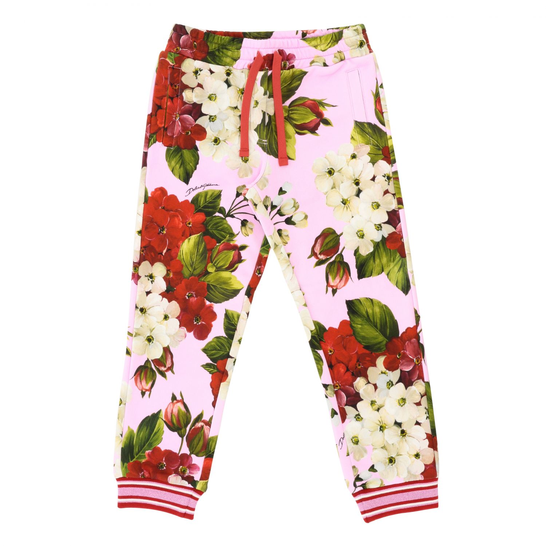 Pantalon Dolce & Gabbana avec cordon rose 1