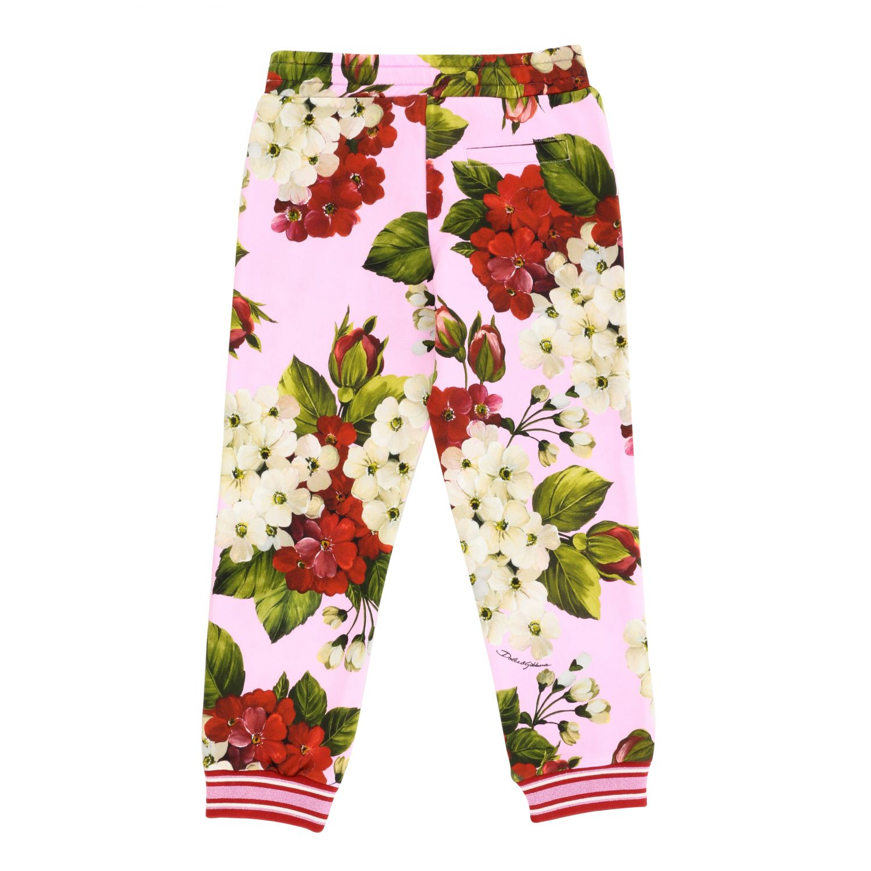 Pantalon Dolce & Gabbana avec cordon rose 2