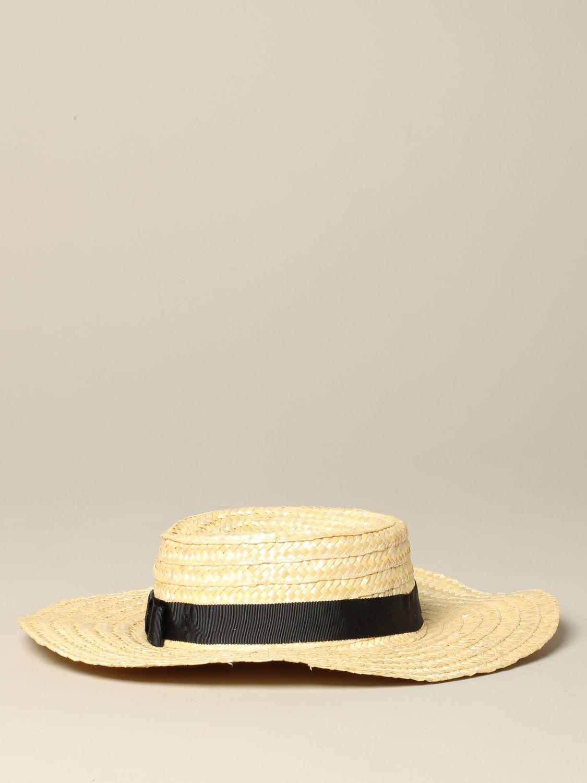 Sonia Rykiel braided boat hat beige 3