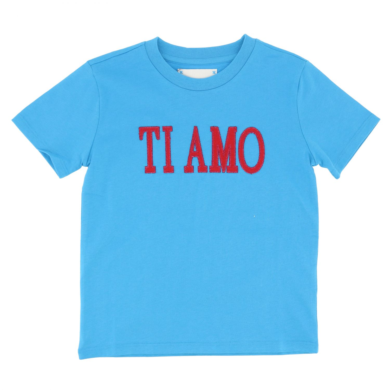 T-shirt Alberta Ferretti Junior: T-shirt kids Alberta Ferretti Junior turquoise 1