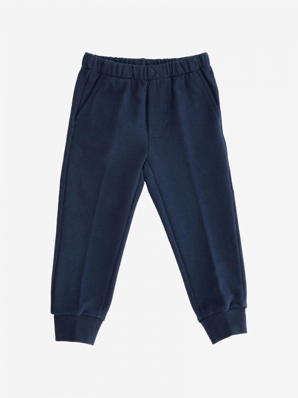 Trousers kids Il Gufo blue 1