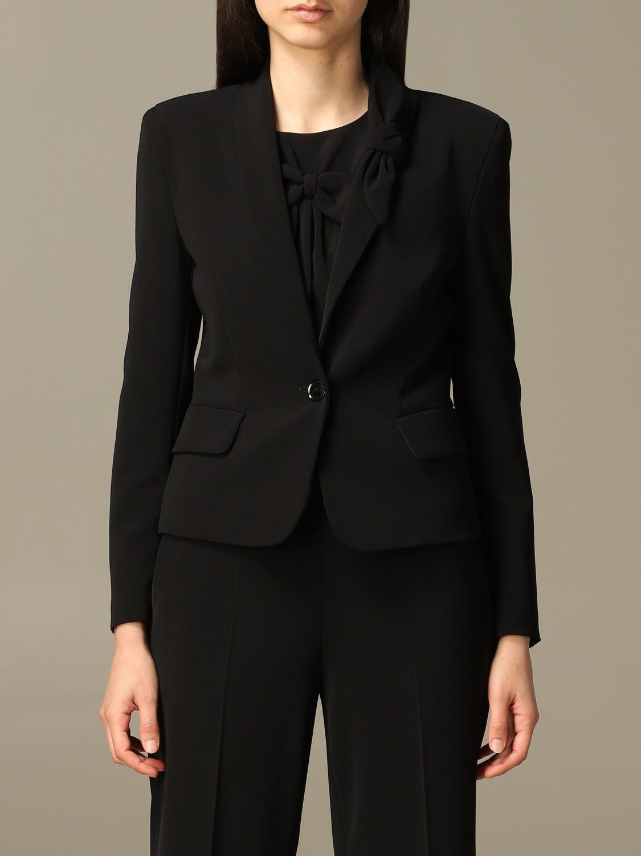 Jacket Boutique Moschino: Jacket women Boutique Moschino black 1