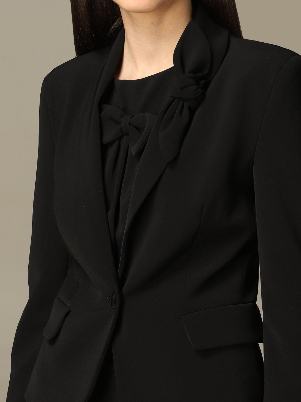 Jacket Boutique Moschino: Jacket women Boutique Moschino black 4