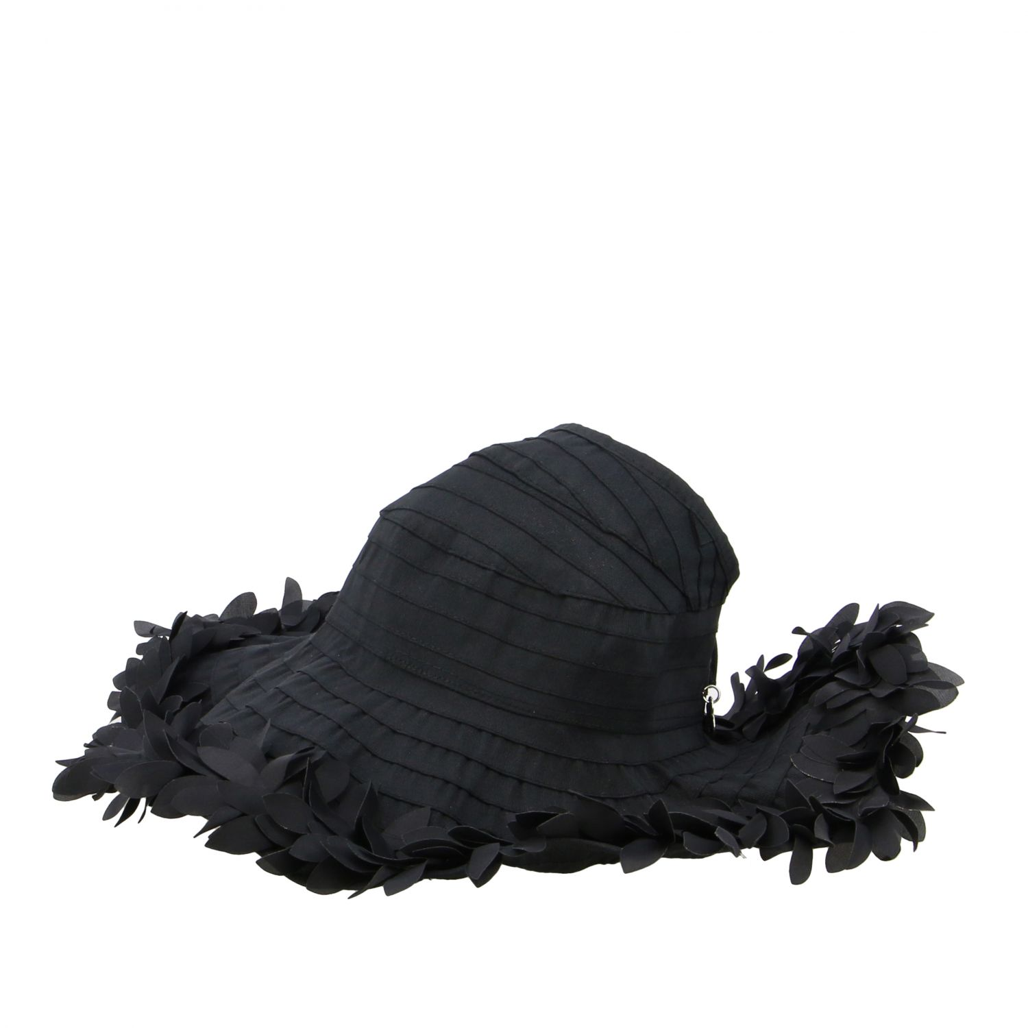 Hat girl kids Monnalisa black 1