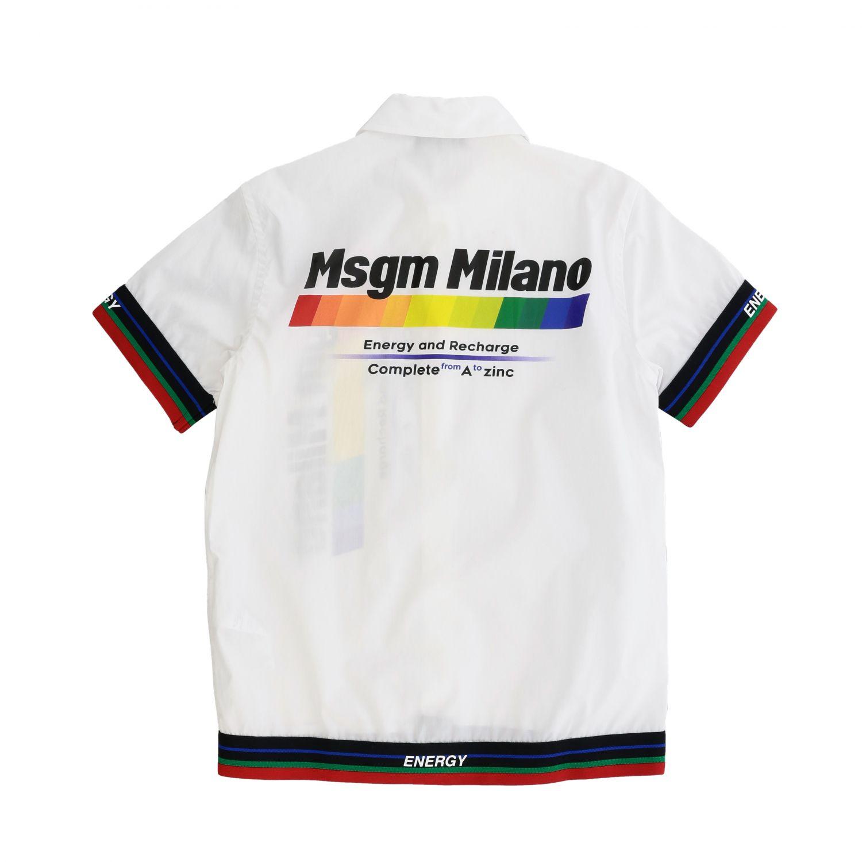 Shirt kids Msgm Kids white 2