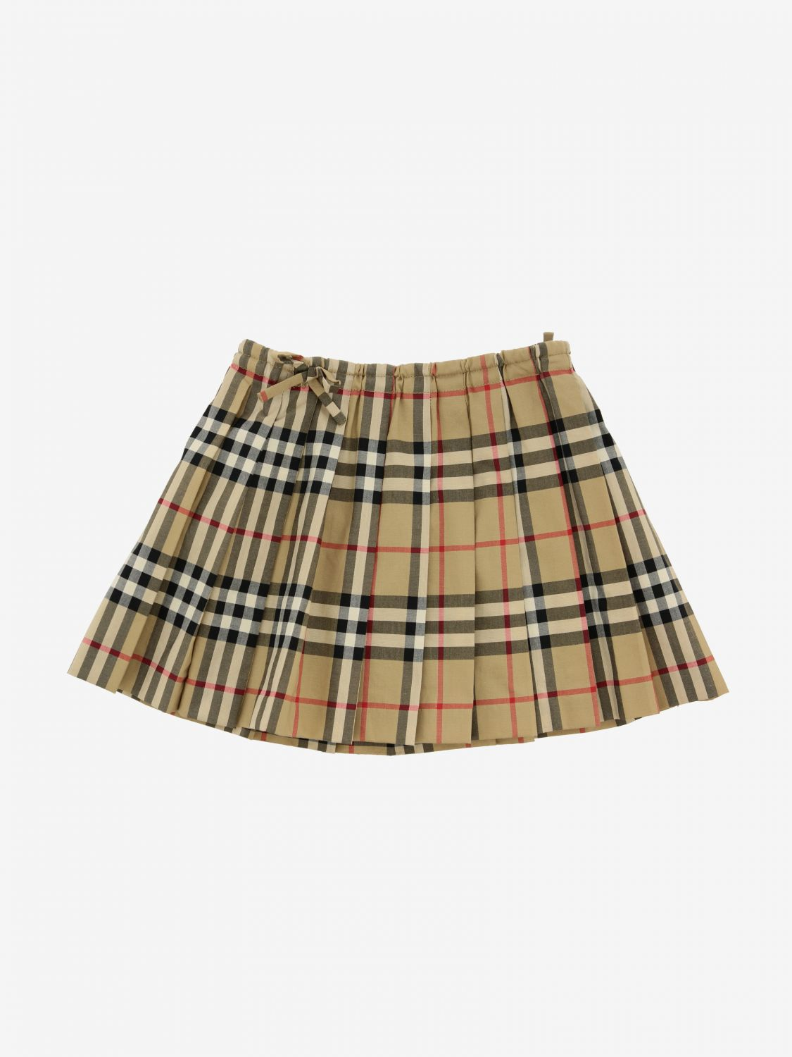 Burberry Infant check skirt beige 1