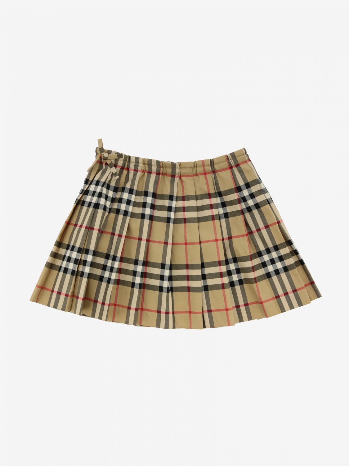 Burberry Infant check skirt beige 2