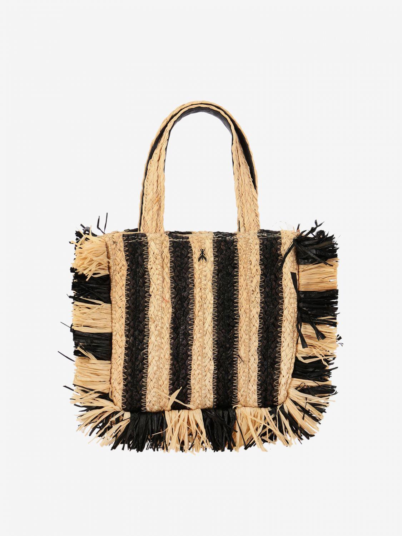 Sac /à main de Style Ethnique avec Fermeture zipp/ée PERLETTI Sac Porter /Épaule pour Femme en Bambou Fait Main