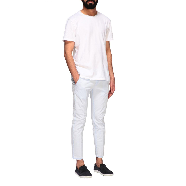 Pants Dondup: Pants men Dondup sky 2
