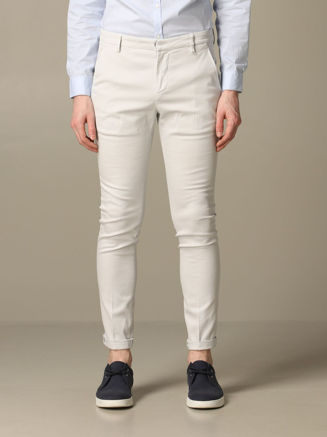 Pants Dondup: Dondup classic low waist trousers ice 1