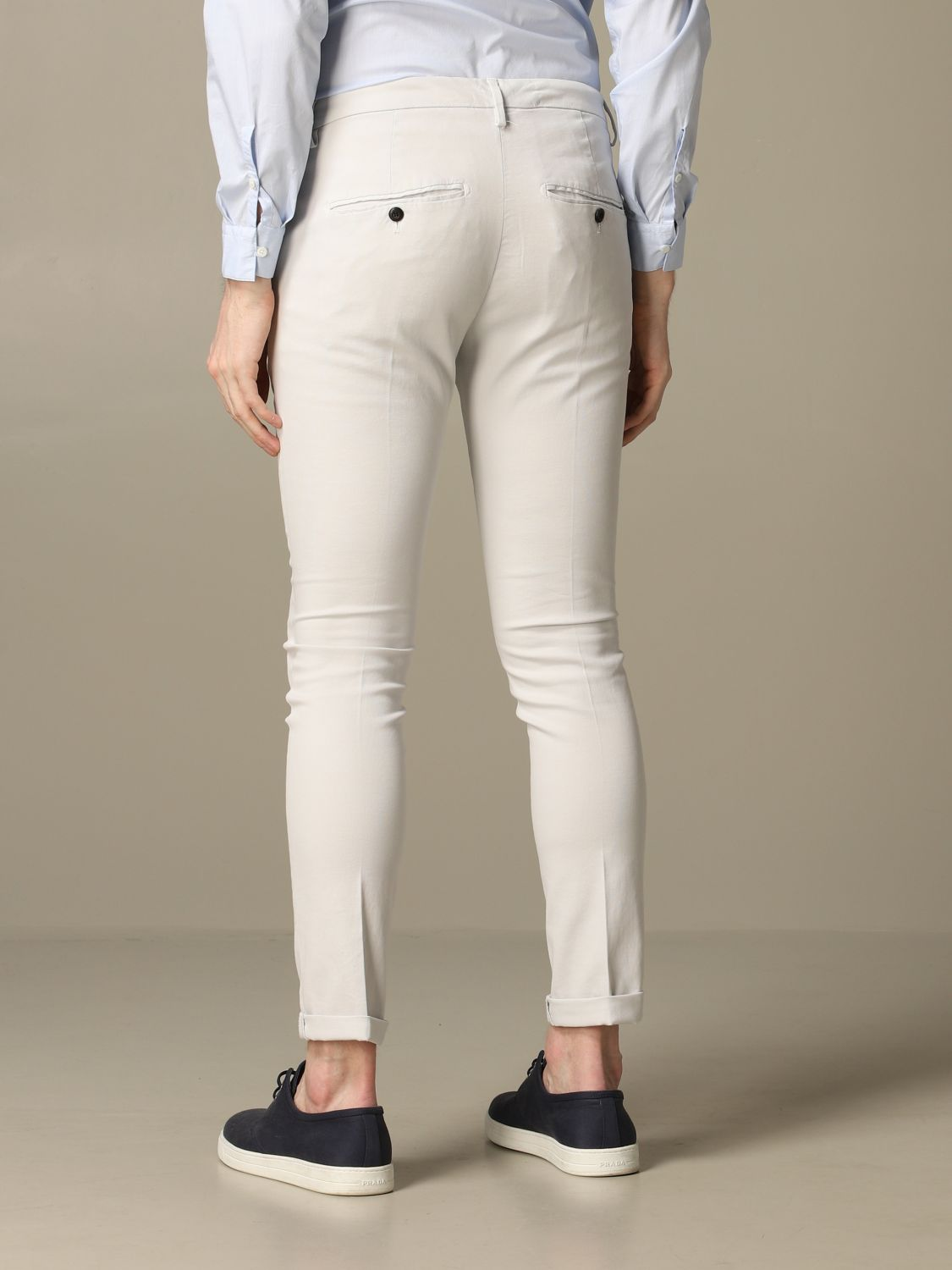 Pants Dondup: Dondup classic low waist trousers ice 2