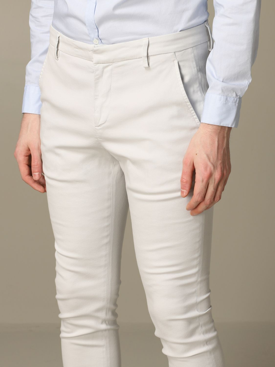 Pants Dondup: Dondup classic low waist trousers ice 3