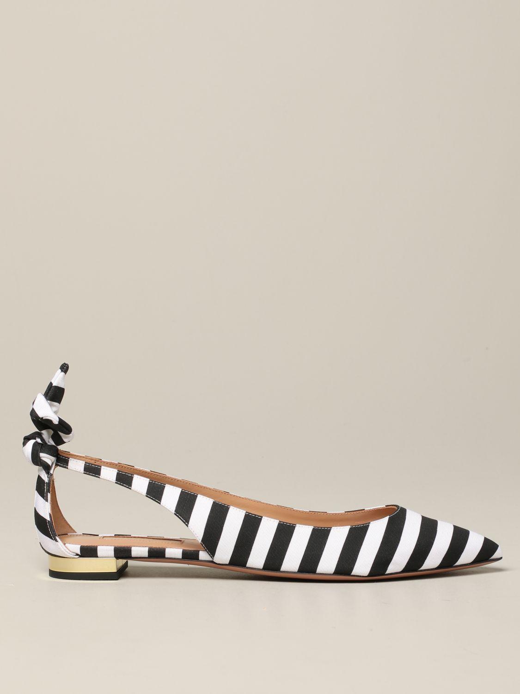 芭蕾平底鞋 女士 Aquazzura 黑色 1