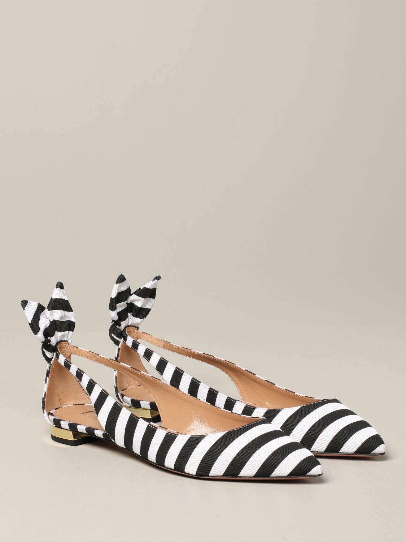 芭蕾平底鞋 女士 Aquazzura 黑色 2