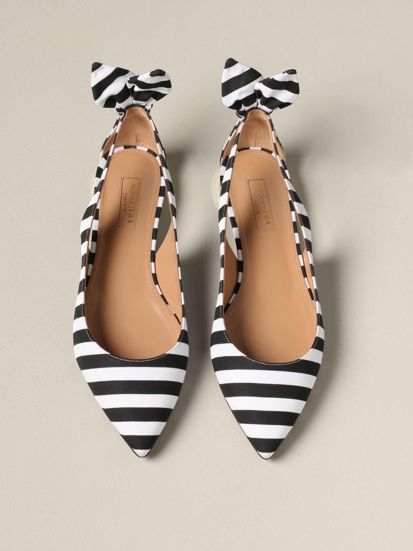 芭蕾平底鞋 女士 Aquazzura 黑色 3