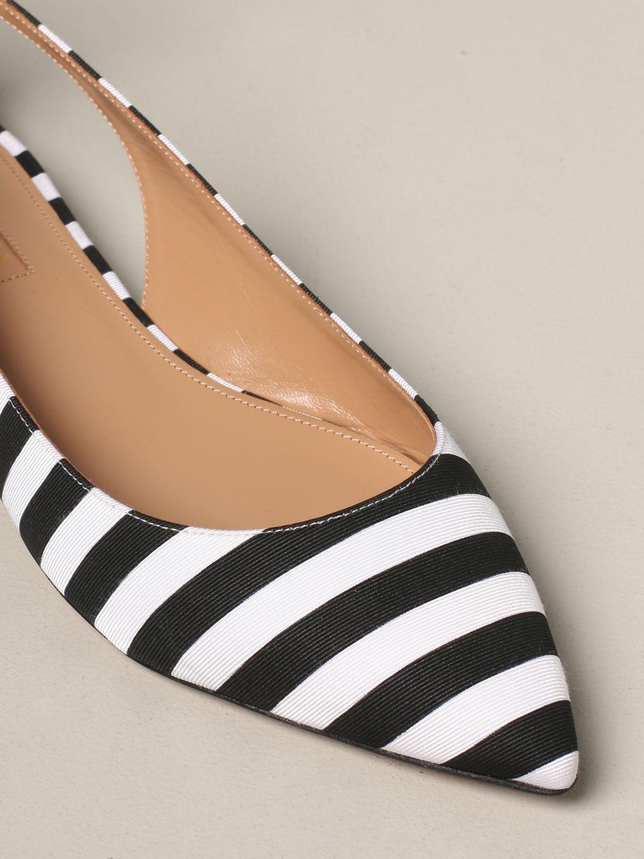 芭蕾平底鞋 女士 Aquazzura 黑色 4