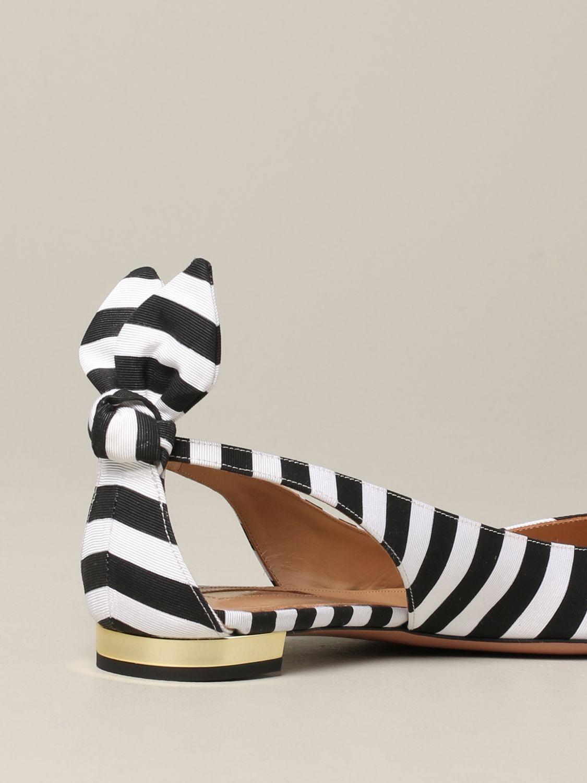 芭蕾平底鞋 女士 Aquazzura 黑色 5