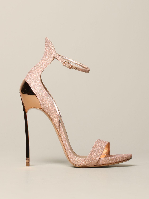 Heeled sandals women Casadei pink 1