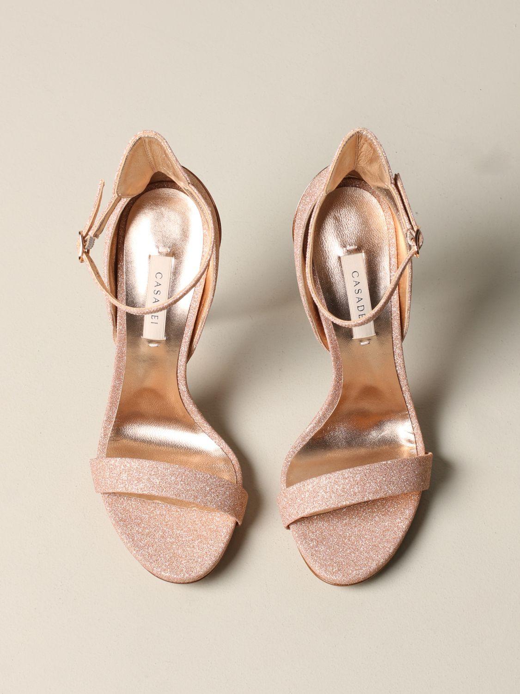 Heeled sandals women Casadei pink 3