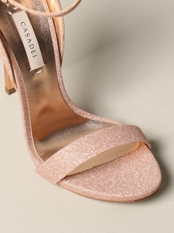 Heeled sandals women Casadei pink 4