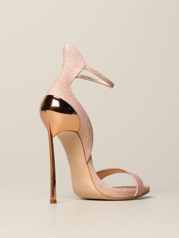 Heeled sandals women Casadei pink 5