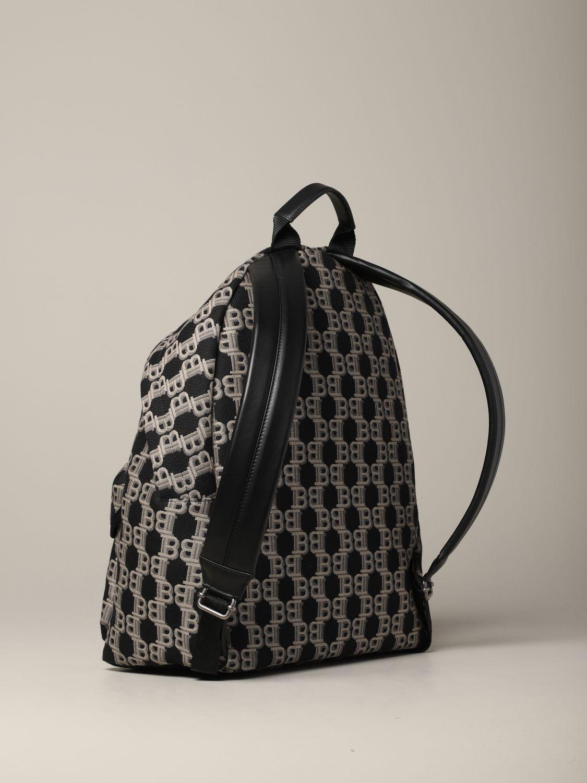 Рюкзак Balmain: Рюкзак Мужское Balmain черный 3