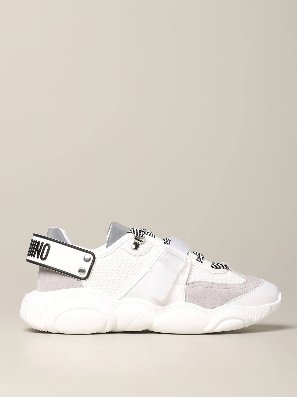 Zapatillas hombre Moschino Couture blanco 1