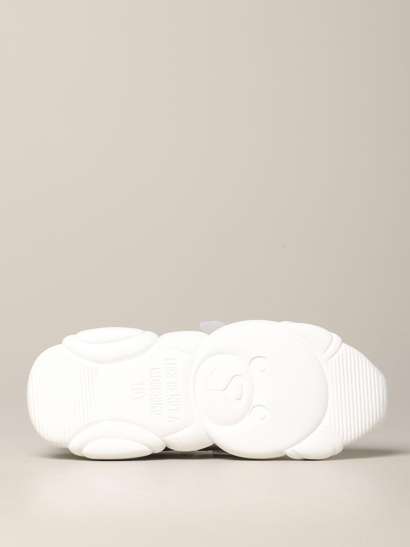 Zapatillas hombre Moschino Couture blanco 6