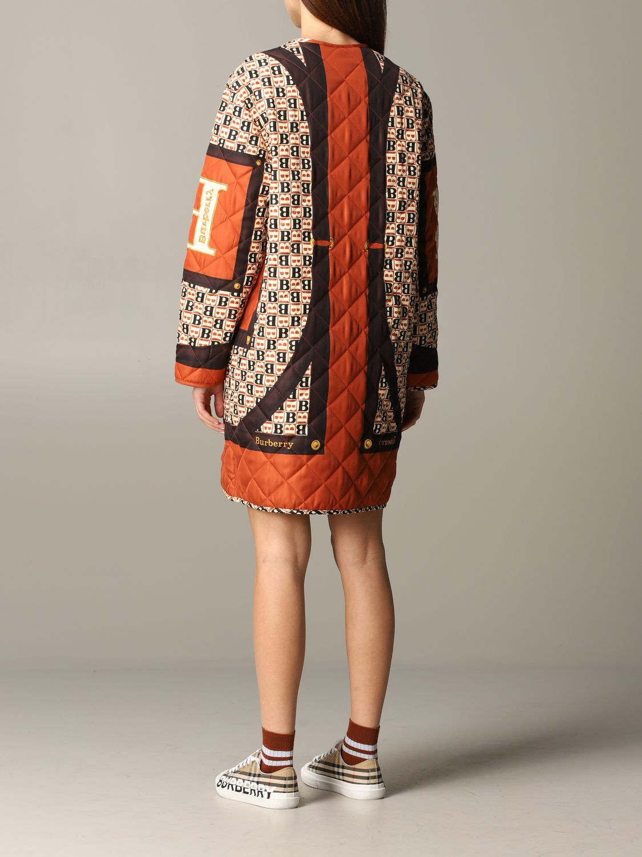 Coat Burberry: Coat women Burberry beige 2