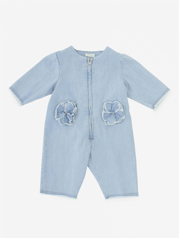 Mono niños Il Gufo azul oscuro 1