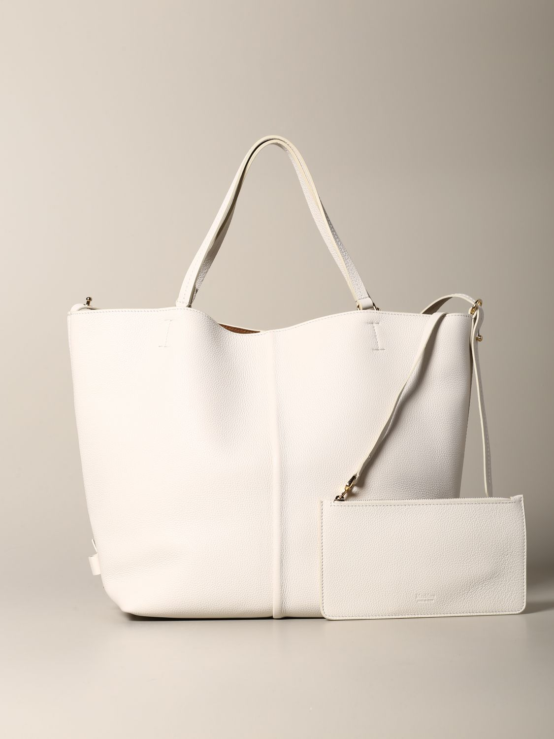 Tote bags women Max Mara yellow cream 4