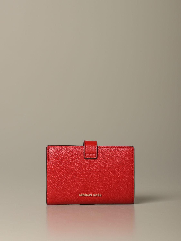 Wallet women Michael Michael Kors red 3