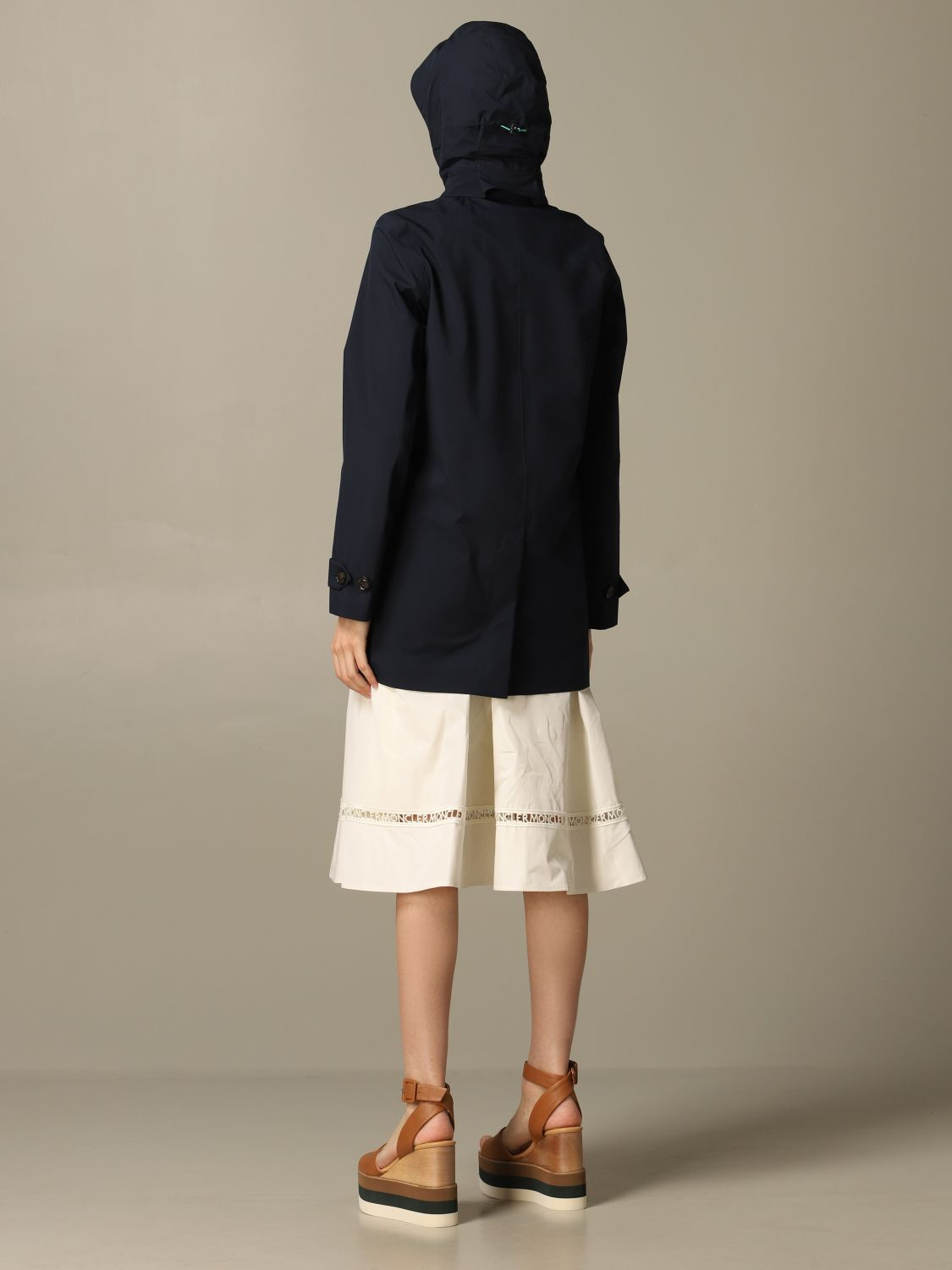 Save The Duck hooded coat blue 2