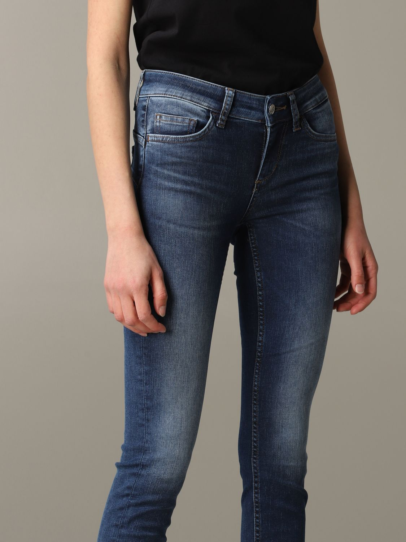 Jeans mujer Liu Jo azul oscuro 4