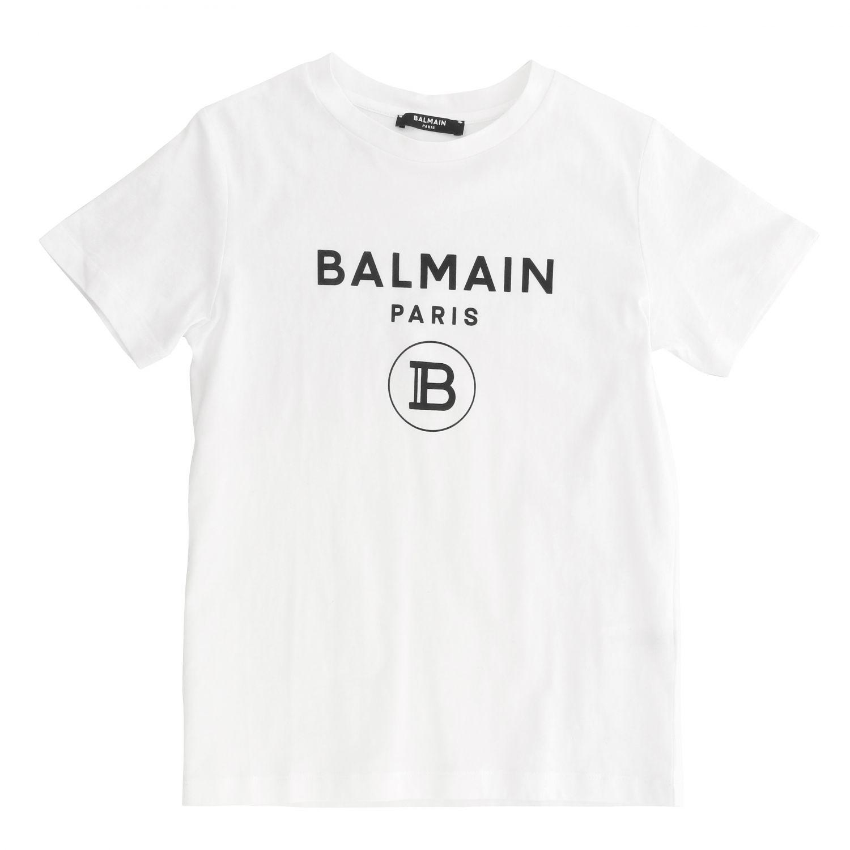 T-shirt Balmain: T-shirt kids Balmain white 1 1