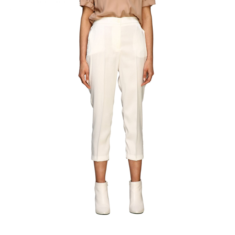 Trousers women Kaos white 1