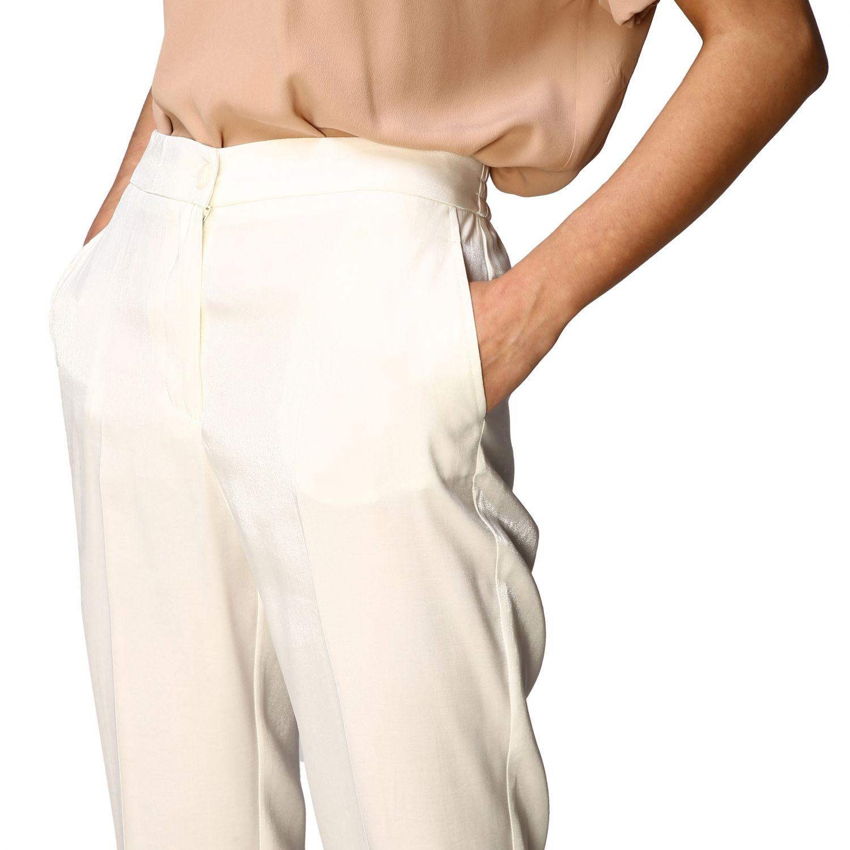 Trousers women Kaos white 4