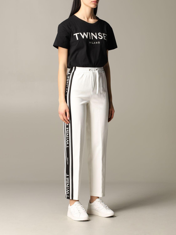 T-shirt damen My Twin schwarz 2