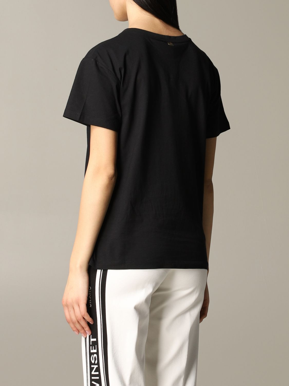 T-shirt damen My Twin schwarz 3