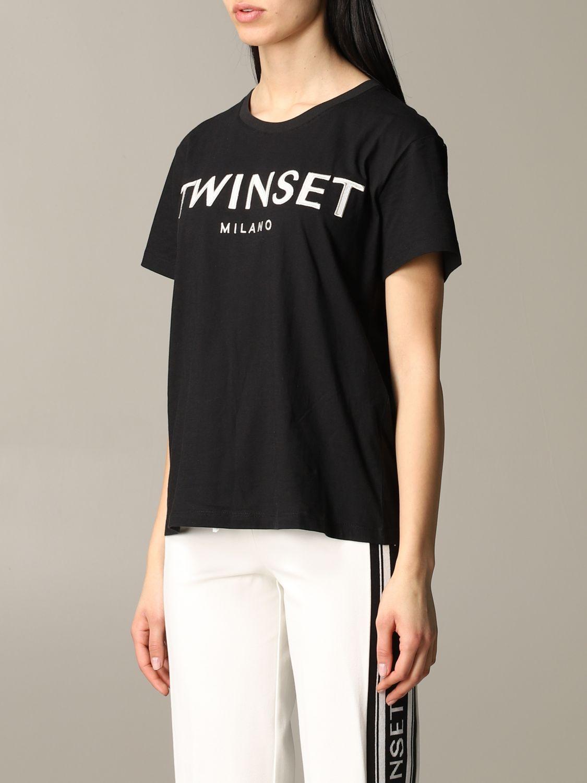T-shirt damen My Twin schwarz 4