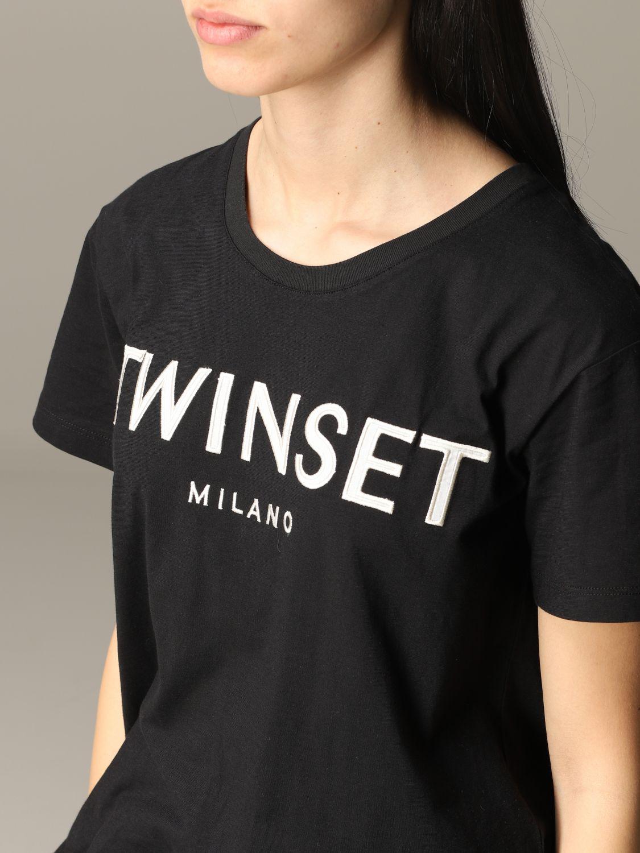 T-shirt damen My Twin schwarz 5